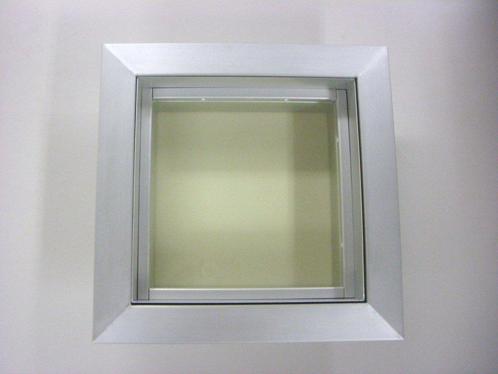 Lead lined telescopic windows ray bar engineering corp for Ga aluminum windows