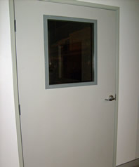 Lead lined Hollow Metal Door