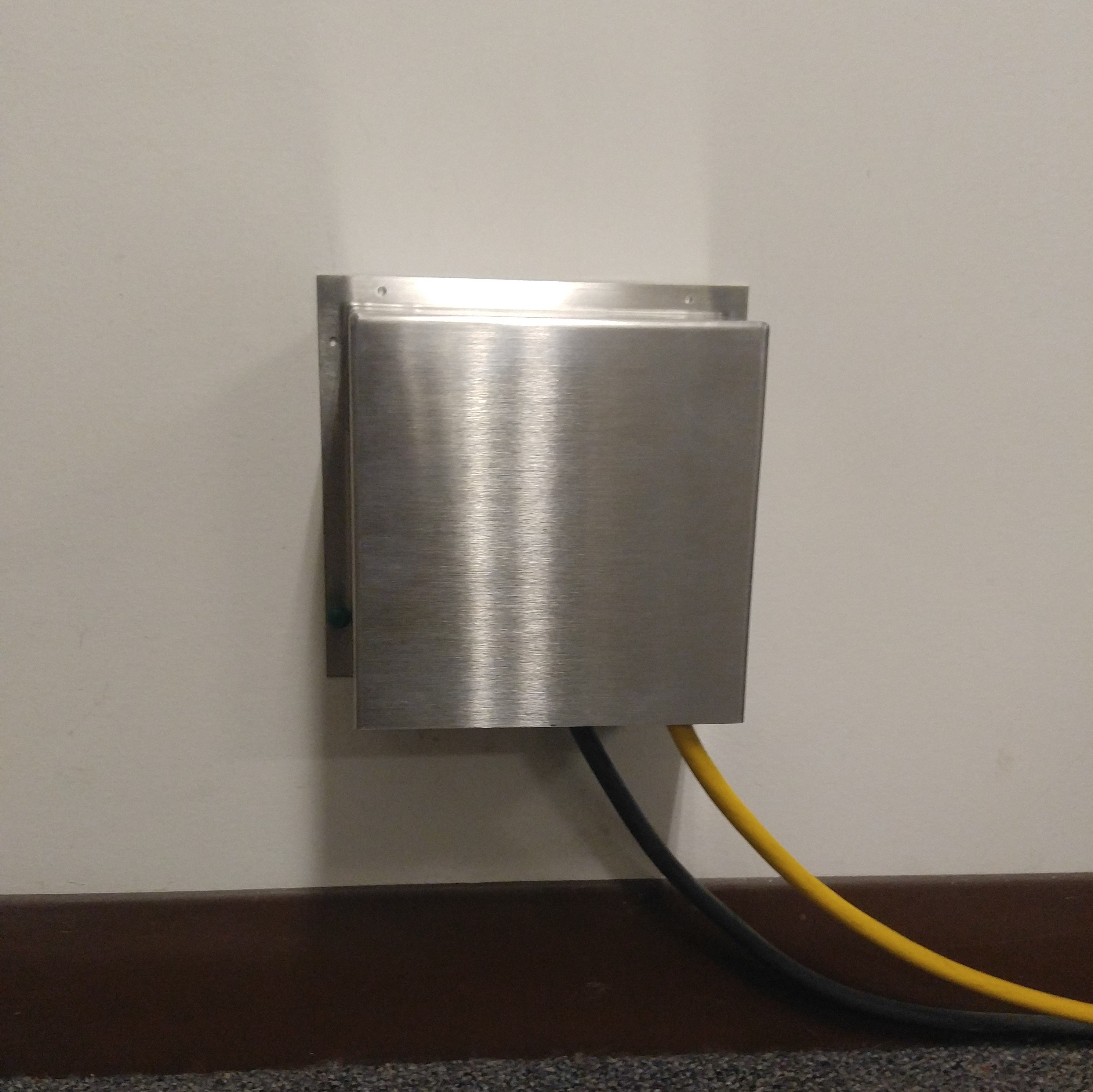 Fixed Shielded Electrical Box Cover Shroud